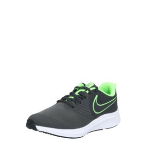 NIKE Pantofi sport 'STAR RUNNER 2' verde neon / gri închis imagine