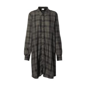 JACQUELINE de YONG Rochie tip bluză verde închis / negru imagine