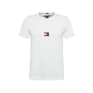 TOMMY HILFIGER Tricou alb / roșu / albastru închis imagine
