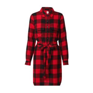 GAP Rochie tip bluză roșu / negru imagine