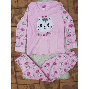 Pijama dama model Mecv Meow Roz imagine
