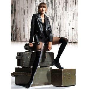 Ciorapi cu model imitatie jambiere Knittex I'm Queen 50 den imagine
