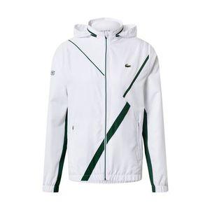 Lacoste Sport Geacă sport 'Taffetas Diamante' verde / alb imagine