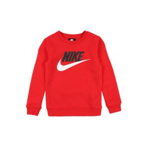 Nike Sportswear Bluză de molton roșu imagine