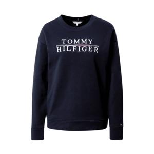 TOMMY HILFIGER Bluză de molton alb / roșu / navy imagine