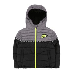 Nike Sportswear Geacă de iarnă verde deschis / negru / gri imagine