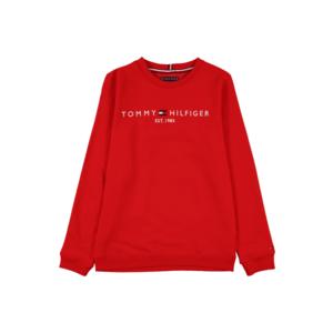 TOMMY HILFIGER Bluză de molton roșu / alb / navy imagine