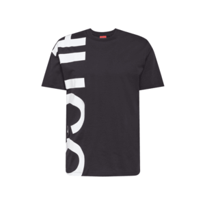 HUGO Tricou negru imagine