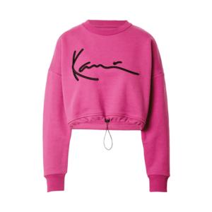 Karl Kani Bluză de molton roz / negru imagine