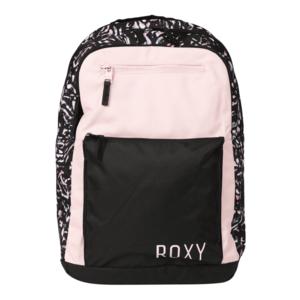 ROXY Rucsac sport negru / gri metalic / roz imagine