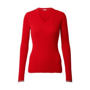 TOMMY HILFIGER Pulover roșu / alb / negru imagine