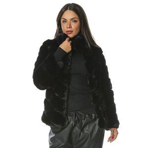 Jacheta de blana cu guler inalt Mirage imagine