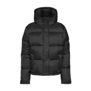 Calvin Klein Jeans Geacă de iarnă 'MONOGRAM TAPE LW PUFFER' negru imagine