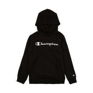 Champion Authentic Athletic Apparel Bluză de molton alb / negru imagine