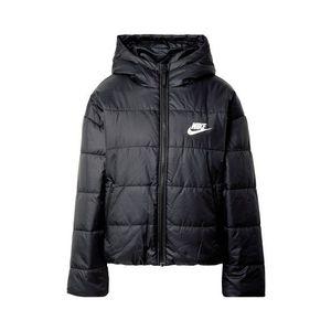Nike Sportswear Geacă de iarnă negru / alb imagine