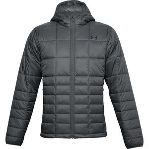 Geaca Under Armour UA Armour Insulated Hooded Jkt-GRY - L imagine