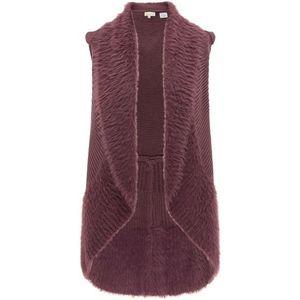 usha FESTIVAL Vestă tricotată bordeaux imagine
