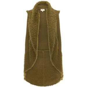 usha FESTIVAL Vestă tricotată oliv imagine