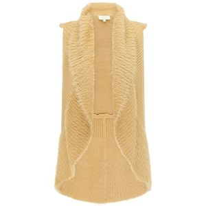 usha FESTIVAL Vestă tricotată nisip imagine