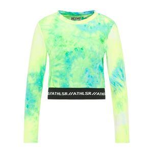myMo ATHLSR Tricou funcțional verde neon / galben neon / albastru neon / negru / alb imagine