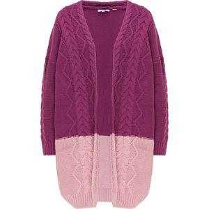 MYMO Geacă tricotată mov / roz vechi imagine