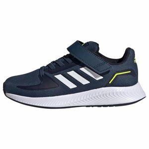 ADIDAS PERFORMANCE Pantofi sport 'Runfalcon 2.0' alb / verde neon / navy imagine