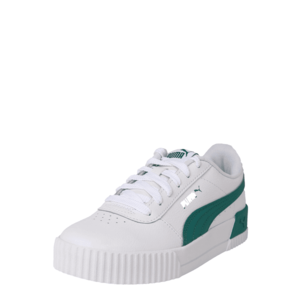 PUMA Sneaker low 'Carina L' alb / verde imagine