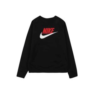 Nike Sportswear Bluză de molton 'FUTURA' roșu / negru / alb imagine