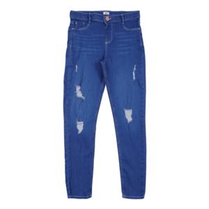 River Island Pantaloni albastru imagine