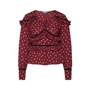 Fashion Union Bluză 'AMLENE' roșu imagine