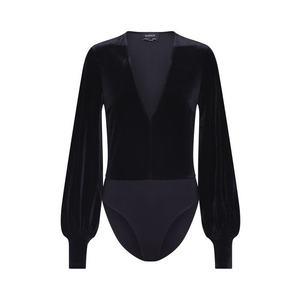 Bardot Bluză negru imagine