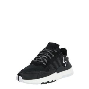 ADIDAS ORIGINALS Sneaker 'NITE JOGGER J' alb / negru imagine