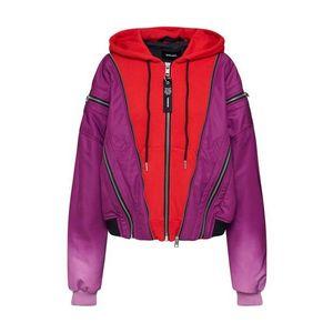 DIESEL Geacă de primăvară-toamnă 'G-MONIFA' roz / roșu imagine