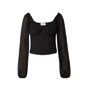 NA-KD Bluză negru imagine