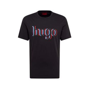HUGO Tricou 'Dontrol' negru imagine
