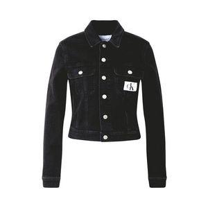 Calvin Klein Jeans Geacă de primăvară-toamnă negru imagine