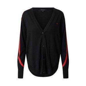 ARMANI EXCHANGE Geacă tricotată negru imagine