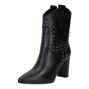 Fabienne Chapot Cizme de cowboy 'Hugo Stud' negru imagine