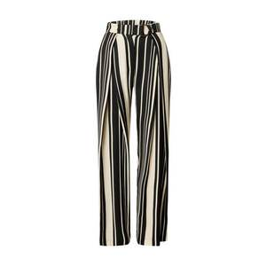 River Island Pantaloni cutați negru / alb imagine