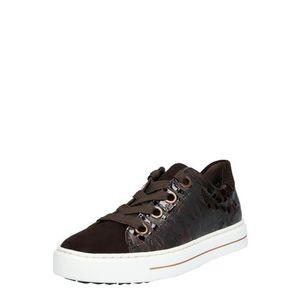 ARA Sneaker low 'Courtyard' maro imagine