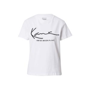 Karl Kani Tricou alb / negru imagine