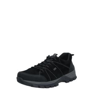 RIEKER Pantofi cu șireturi sport negru imagine