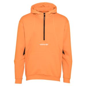 ADIDAS ORIGINALS Bluză de molton portocaliu / negru / alb imagine