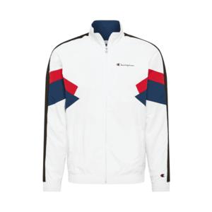 Champion Authentic Athletic Apparel Geacă de primăvară-toamnă alb / navy / roșu imagine