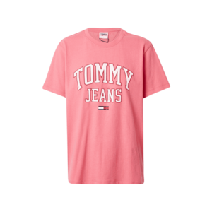 Tommy Jeans Tricou 'COLLEGIATE' roz / alb / roșu / navy imagine