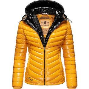 MARIKOO Geacă de iarnă 'Lennjaa' galben / negru imagine