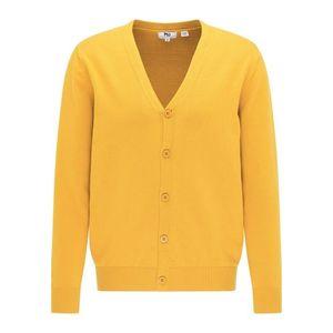 Mo ESSENTIALS Geacă tricotată galben imagine