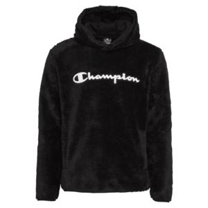 Champion Authentic Athletic Apparel Bluză de molton negru / alb imagine