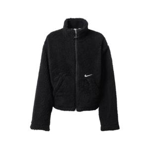 Nike Sportswear Geacă de primăvară-toamnă negru / alb imagine