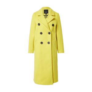 River Island Palton de iarnă 'Drop Shoulder Coat' galben imagine